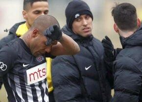"""Reacție-șoc a antrenorului de la Partizan după ce jucătorul său a ieșit plângând de pe teren: """"Să fie pedepsit!"""""""