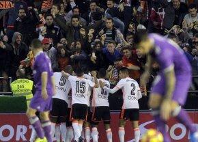 VIDEO + FOTO Surpriză de proporții pe Mestalla » Valencia o învinge pe Real Madrid, iar lupta pentru titlu se încinge în La Liga
