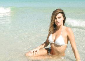 FOTO Napoli stă bine la capitolul fani! Un fotomodel american, pictorial de senzație pentru clubul italian