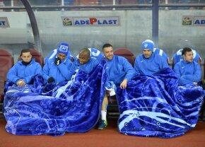 Ce nu s-a văzut la TV! Mari probleme pentru CS U înaintea și în pauza meciului cu Dinamo » Acuze dure la adresa jucătorilor