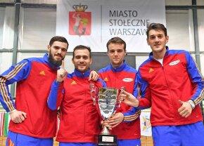 Băieți de top » Echipa masculină de sabie a câștigat ieri etapa de Cupă Mondială de la Varșovia