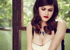 Alexandra, complet goală: imagini fabuloase filmate în timpul unei scene de film