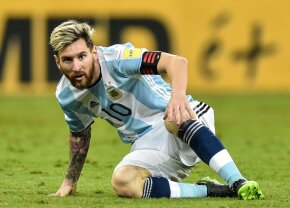 Suspendare drastică pentru Messi din partea FIFA pentru cuvintele adresate arbitrului la meciul Argentina - Chile, 1-0