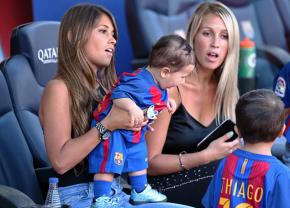 FOTO Femei de succes » Iubitele lui Messi și Suarez fac echipă bună împreună