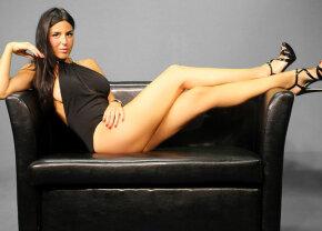 FOTO Barbara face Rabona fierbinte: și-a arătat în direct lenjeria intimă!