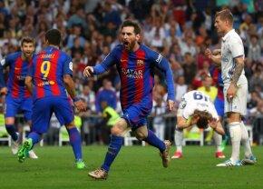 FOTO Ce nu s-a văzut la TV » Singurul suporter al lui Real Madrid care s-a bucurat la golul trei al Barcelonei