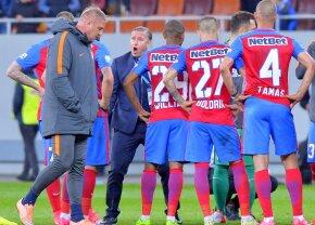 """Steliștii se tem de meciul cu Dinamo: """"Va fi cel mai greu din acest play-off"""" + Ce le-a spus Reghecampf jucătorilor după meci"""