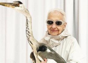 GALERIE FOTO O bătrână de 95 de ani a devenit cea mai recentă senzaţie a modei
