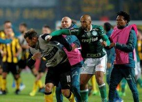 VIDEO+FOTO Un fost star din Serie A a provocat un scandal uriaș! 18 polițiști răniți în timpul meciului