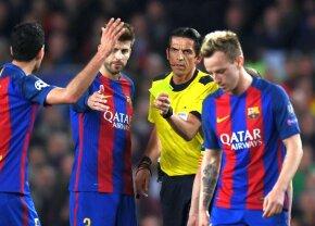 """Arbitrul acuzat că a ajutat Barcelona să elimine PSG, """"răsplătit"""" cu un nou meci important!"""