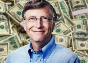 """Bill Gates îți explică primul lucru pe care l-ar face dacă ar câștiga 2$ pe zi: """"Asta mi-am dat seama că ar merge"""""""