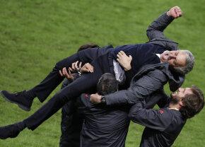 """Reverența lui Mourinho după succesul din Europa League: """"Am completat opera lui Ferguson"""""""