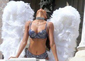 "GALERIE FOTO ""Îngerașul"" a refuzat » Un supermodel Victoria's Secret a avut un vis inedit!"