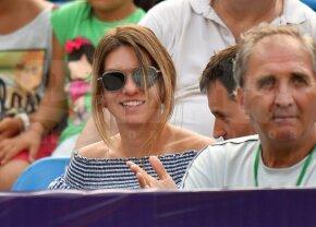 """FOTO Simona Halep și-a urmărit conaționalele din tribunele BRD Bucharest Open: """"Sunt dornică să joc din nou!"""""""