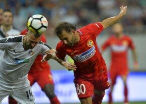 """VIDEO + FOTO » FCSB - Viktoria Plzen 2-2 » Totul se decide în Cehia » Budescu și Teixera eroii, fundașii au fost """"groparii"""""""