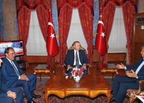 FOTO Mircea Lucescu, întâlnire de gradul zero cu președintele Erdogan » Ce au discutat