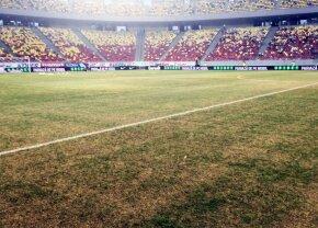 """Becali dezvăluie că a plătit pentru schimbarea gazonului de pe Arena Națională: """"Eu și Federația am dat bani"""""""