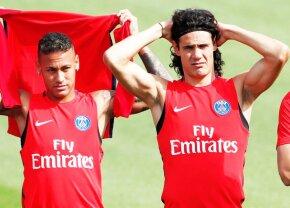 Incredibil » Scandal în vestiarul lui PSG: Cavani și Neymar au sărit la bătaie