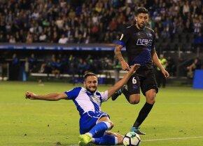 VIDEO Deportivo, la prima victorie în acest sezon din La Liga, cu Pantilimon și Andone titulari » Cum s-au descurcat românii