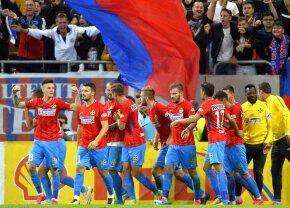 FOTO + VIDEO FCSB câștigă la limită derby-ul cu Dinamo, 1-0, și se apropie la un punct de CFR