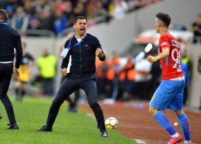 """FCSB - Dinamo 1-0 // Dică, ironic după victoria în fața rivalei: """"Mă așteptam să fie mai greu"""""""