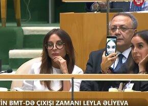 VIDEO Gest nepotrivit la ONU » Își făcea selfie-uri sexy în timp ce tatăl ei vorbea despre genocid