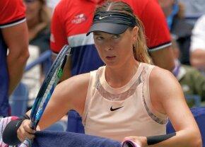 Surpriză de proporții la turneul de la Moscova: Maria Șarapova, eliminată în primul tur