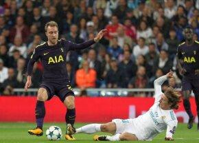 Două greșeli mari de arbitraj în Real Madrid - Tottenam: penalty clar refuzat englezilor, ofsaid la primul gol
