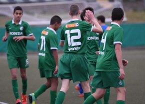 Performanță excelentă pentru un român! A debutat la 15 ani în Youth League. E doar al treilea fotbalist care reușește asta