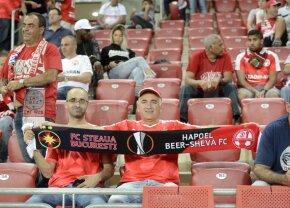 FOTO Imaginea serii vine de la Beer Sheva! Cum a surprins un dinamovist aflat pe stadion la meciul dintre Hapoel și FCSB