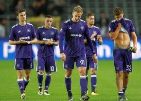 VIDEO Anderlecht a bifat azi o nouă rușine în campionat » Iar coșmarul lui Chipciu și Stanciu se prelungește