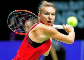 FOTO + VIDEO Mingi nerăbdătoare » Prima victorie la Singapore! Liderul mondial Simona Halep, lecție de tenis contra Carolinei Garcia
