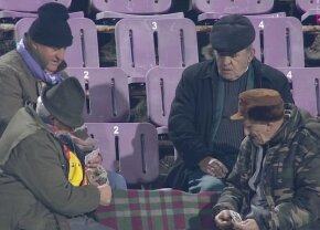 VIDEO Imagini antologice la Timișoara » Ce făceau patru fani în timpul meciului ACS Poli - FC Botoșani