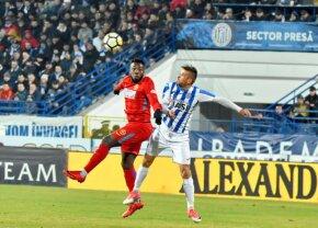 VIDEO FCSB pleacă învinsă din Copou, scor 0-1 » Echipa lui Dică poate pierde primul loc!