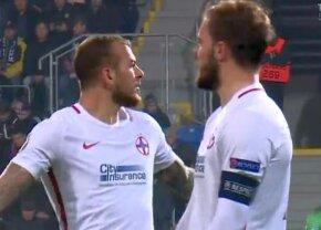 VIDEO Imaginile compromițătoare cu Alibec la Plzen: atacantul înjură în direcția lui Dică! » Reacțiile antrenorului și căpitanului FCSB