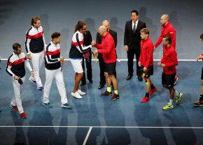 VIDEO + FOTO Franța și Belgia sunt la egalitate după prima zi a finalei Cupei Davis » Tsonga și Goffin, victorii fără emoții