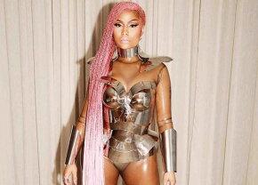 FOTO Nicki Minaj, în cea mai sexy și ciudată ținută