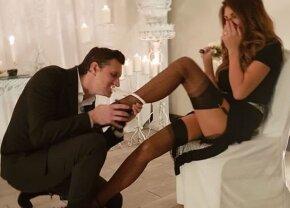 """GALERIE FOTO A dat lovitura! Imagini incendiare de la nunta fostului conducător din Liga 1 despre care Becali a spus: """"L-a prins nevasta cu un bărbat în pat"""""""