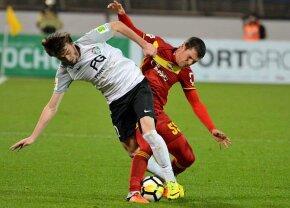 Bourceanu, ales în cea mai bună echipă a primei părți a sezonului din Rusia