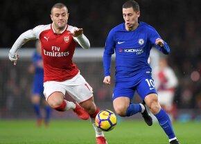 VIDEO Meci nebun pe Emirates, între Arsenal și Chelsea » În repriza a doua s-a marcat de patru ori!