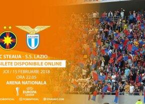 BILETE FCSB-LAZIO. FCSB a anunțat prețurile biletelor pentru meciul cu Lazio! De azi fanii își pot cumpăra tichete online