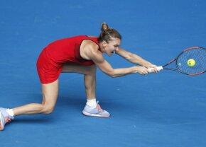Punctul turneului! Simona Halep și Lauren Davis au oferit un schimb uluitor + lovitură senzațională a Simonei