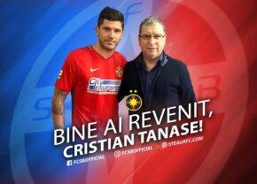 "EXCLUSIV Cristi Tănase a semnat azi cu FCSB! Gigi Becali a dat toate detaliile afacerii: ""Așa a vrut el"""
