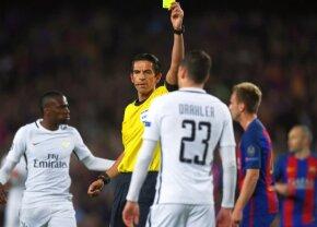 UEFA a stabilit arbitrul meciului FCSB - Lazio » `Hoțul` care a ajutat-o pe Barcelona vine la București