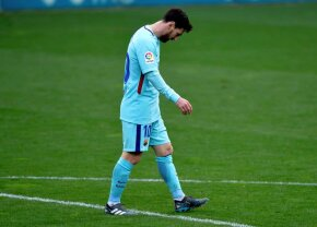 Messi nu scapă orice ar face! E la doar un pas să-și bată recordul negativ! :O