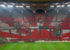 GALERIE FOTO Coregrafii spectaculoase realizate de Dinamo și FCSB! Cătălin Hîldan n-a fost uitat