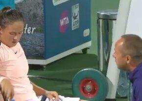 WTA DUBAI // VIDEO Discursul săptămânii în WTA: a fost condusă cu set și break, dar a revenit incredibil după speech-ul antrenorului: Asta e singura ta șansă!