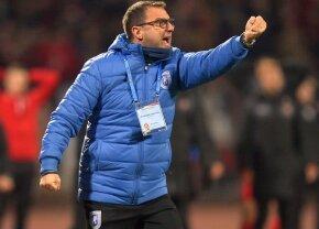 """Devis Mangia a răbufnit după egalul cu Timișoara, 1-1: """"Sunt două lucruri care mă nemulțumesc"""""""