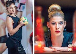 GALERIE FOTO A pozat cum nu ai mai văzut-o » Cea mai sexy jucătoare de la CSM București e fan declarat al unei echipe de fotbal