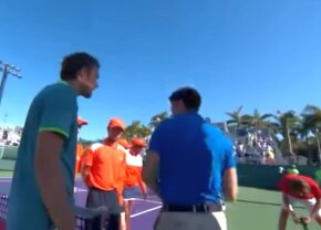 """VIDEO Daniil Medvedev și Stefano Tsitsipas au fost la un pas de bătaie la turneul de la Miami: """"Fraiere, să te uiți la mine când vorbesc cu tine!"""""""